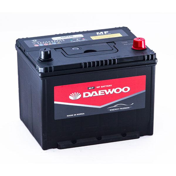 Ắc Quy Daewoo 75D23L 12V-65AH